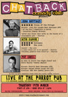 Flyer thumbnail for Chatback Comedy's March Madness!: John Hastings, Nish Kumar, Pat Cahill, More