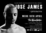 Flyer thumbnail for 'No Beginning No End' Official CD Launch Party: Jose James + JD73