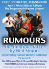 Flyer thumbnail for Rumours - A Farce By Neil Simon: Teignmouth Players