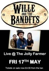 Flyer thumbnail for Wille & The Bandits