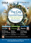 Flyer thumbnail for The City And The Common Good: What Kind Of City Do We Want? Good Banks