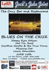 Flyer thumbnail for Blues On The Cruz: Lewis Hamilton Band + Hot Tin Roof + Sleepy Eyes Nelson + Cynthia Gentle and the True Tones + Missing Cat