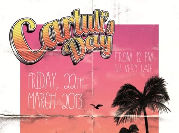 Cartuli's Day - March Edition: Christopher Rau + Doubting Thomas + Carlo + Gabbi Lopez + Unai Trotti picture