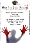Flyer thumbnail for What The Blood Revealed + Noyo Mathis + Karhide