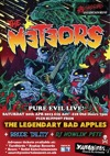 Flyer thumbnail for Pure Evil Live: The Meteors + The Legendary Bad Apples + Bruce Tality