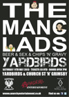 Flyer thumbnail for The Manc Lads + Dead Like Zombies