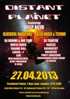 Flyer thumbnail for Distant Planet And Deep Acid: Krome & Time