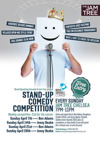 Flyer thumbnail for Brand Spanking Comedy - Free Comedy Comp!