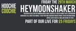 Flyer thumbnail for Live For £5 Fridays: Heymoonshaker