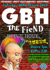 Flyer thumbnail for Daggers Punk Presents: GBH + The Fiend + In Evil Hour + Blatoidea