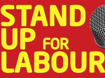 Stand Up For Labour: Stephen Carlin, Joe Wells, Matt Hollins, Crispin Flintoff, Rob Mulholland picture