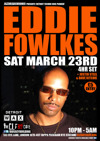 Flyer thumbnail for Detroit Techno Soul Pioneer In Session: Eddie Fowlkes