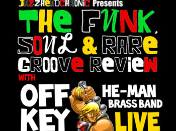 The Funk, Soul And Rare Groove Review: Jazzheadchronic + Off-Key He-Man Brassband picture