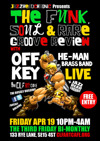 Flyer thumbnail for The Funk, Soul And Rare Groove Review: Jazzheadchronic + Off-Key He-Man Brassband