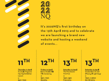 2022nq – First Birthday Celebrations - Ex:ample Magazine Hip Hop Exhibition Launch picture