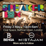 Flyer thumbnail for Speakerbox: MistaJam + Benga + Kry Wolf + Second City