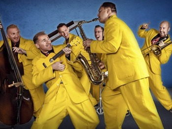 The Jive Aces + Toni Elizabeth Prima picture
