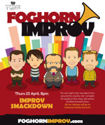 Flyer thumbnail for Improv Smackdown: Foghorn Improv