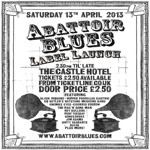 Flyer thumbnail for Abattoir Blues Label Launch: The Rag n' Bone Man + Black Ribbons + Hopper Propelled Electric + Bleak + Dr Butler's Hatstand Medicine Band + Jim Adama + Enemies Eyes + Euchrid Eucrow + Ruby Tuesday + Hey Bulldog + Dirty Vagrants + Bones Shake
