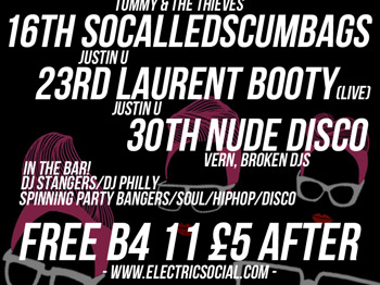 Nude Disco!: DJ Vern + Broken DJs + DJ Philly + Stangers picture
