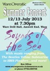 Flyer thumbnail for Sounds Of The Sea: Ware Operatic Society
