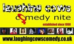 Flyer thumbnail for Laughing Cows Comedy Night: Lucy Beaumont, Badge Hooks, Ruth Arrowsmith, Mrs Barbara Nice (Janice Connolly), Kerry Leigh