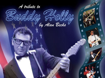 Alan Becks is Buddy Holly picture