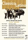 Flyer thumbnail for Classico Latino & Friends Journey Through Latin America: Classico Latino
