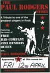 Flyer thumbnail for Paul Rodgers Story