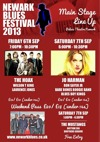 Flyer thumbnail for Newark Blues Festival: The Mustangs