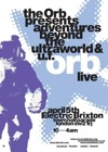 Flyer thumbnail for Adventures Beyond The UFOrb : The Orb