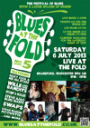 Flyer thumbnail for Blues At The Fold Festival: Wille & The Bandits + Stomp And Holler + Ricky Cool And The Hoola Boola Boys + Steve Ajao's Blues Giants + Sarah Warren