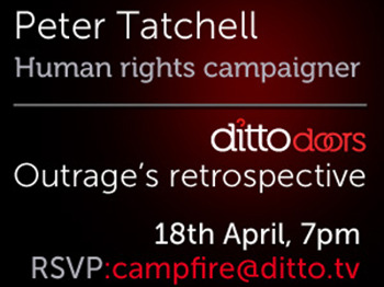 Campfire Presents Courageous Human Rights Campaigner: Peter Tatchell picture