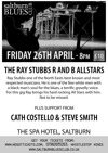 Flyer thumbnail for Saltburn Blues Club: Ray Stubbs R'n'B Allstars