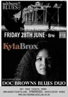 Flyer thumbnail for Saltburn Blues Club: Kyla Brox Band + Doc Browns Blues Duo