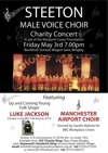 Flyer thumbnail for Benefit Concert For Margaret Carey Foundation: Luke Jackson + Steeton Male Voice Choir + Manchester Airport Choir
