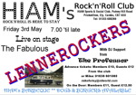 Flyer thumbnail for Rock'n'roll Friday Night Special: The Lennerockers + The Professor