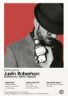 Flyer thumbnail for Gazebo: Justin Robertson