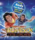 Flyer thumbnail for Andy And Mike's Tick Tock Time Machine: Andy Day & Mike James