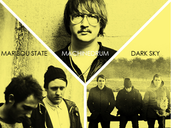 Machinedrum + Dark Sky + Maribou State picture