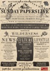 Flyer thumbnail for Secret Forum's Sunday Papers Live
