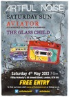 Flyer thumbnail for Artful Noise Acoustic.: Saturday Sun + The Glass Child + Aviator