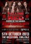 Flyer thumbnail for 'Empire Of The Damned' Album Launch Party: Falling Red + Knock Out Kaine + Estrella