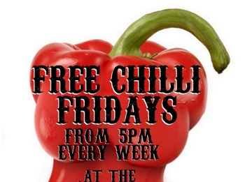 Free Chilli Friday @ Three Sugar Loaves picture
