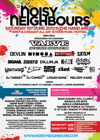 Flyer thumbnail for Noisy Neighbours Festival 2013: Devlin + Sway + Dillinja + Tim Westwood