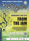 Flyer thumbnail for Music In The Gardens: From The Jam