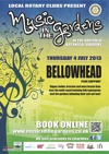 Flyer thumbnail for Music In The Gardens: Bellowhead + The Payroll Union
