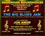 Flyer thumbnail for The Big Blues Jam: Jon Amor + Pete Gage Band + The Hoax