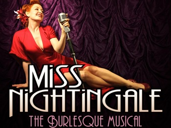 Miss Nightingale - The Burlesque Musical: Amber Topaz, Ilan Goodman picture