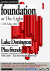 Flyer thumbnail for Genius Presents Foundation: Luke Donington